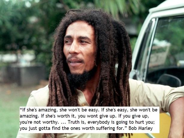 Some Bob Marley Wisdom