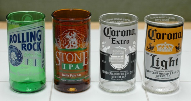Turn a Beer Bottle Into Drinking Glass