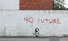 no future-banksy