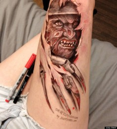 leg art by jody steel